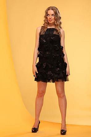 Ah - 027 - Короткие платья (мини платья) коллекции вечерних платьев 2012.