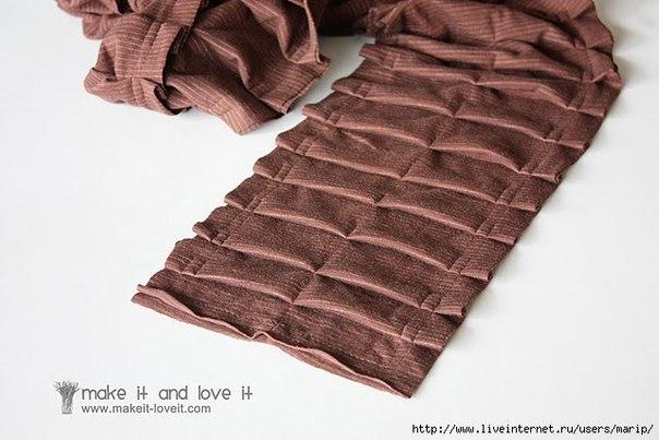 开心果喜欢的褶皱围巾 - qyp.688 - 邱艳萍手工博客