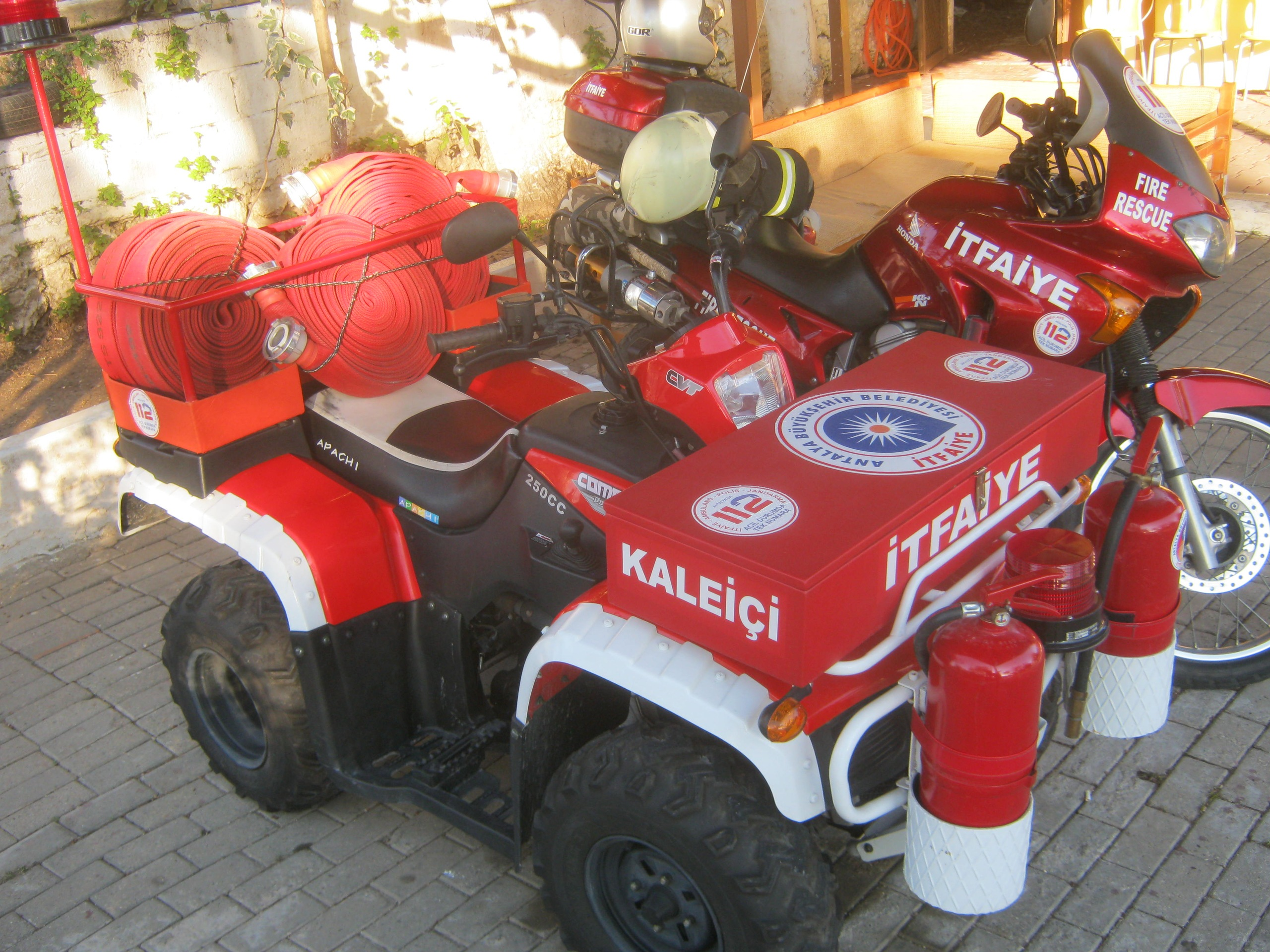 Мини-пожарные машины в Турции