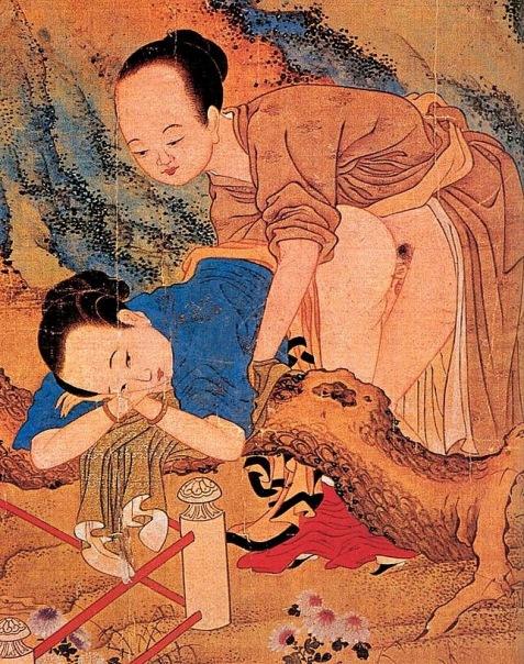 китайское древнее порно