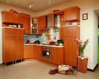 Благодаря разумному обустройству кухни хозяйка может сократить до 60.