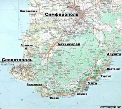 Где находится севастополь