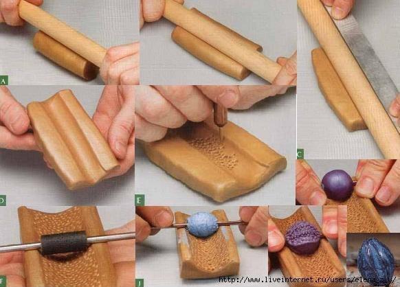 Как сделать глиняную форму