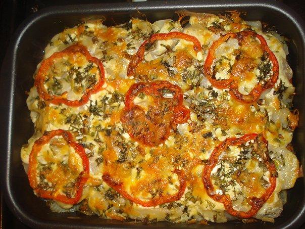 Рецепт говядина с овощами в духовке рецепт