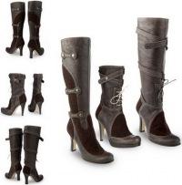 Девушки, поделитесь советами.  Купила туфли, из нат.кожи, лакированные.