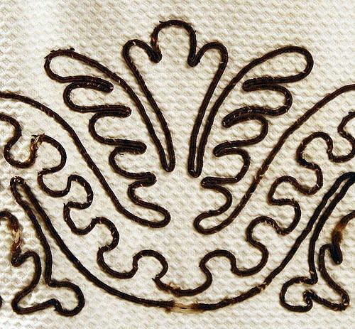 Вышивка шнуром орнамент 23