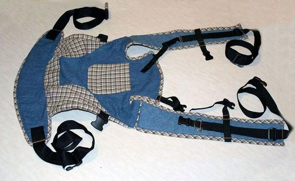 Как сшить для ребенка сумку кенгуру 31