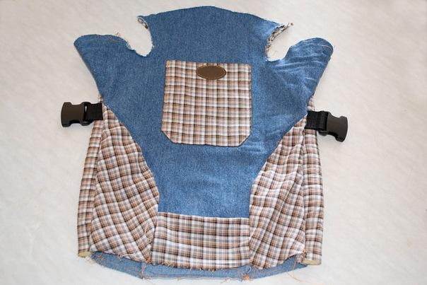 как сшить рюкзак кенгуру - Выкройки одежды для детей и взрослых.