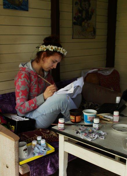 Роспись одежды акрилом, роспись, акрил, ручная работа, футболки, принты