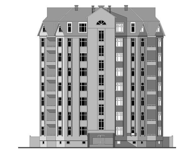 Чертежи Многоэтажных Домов