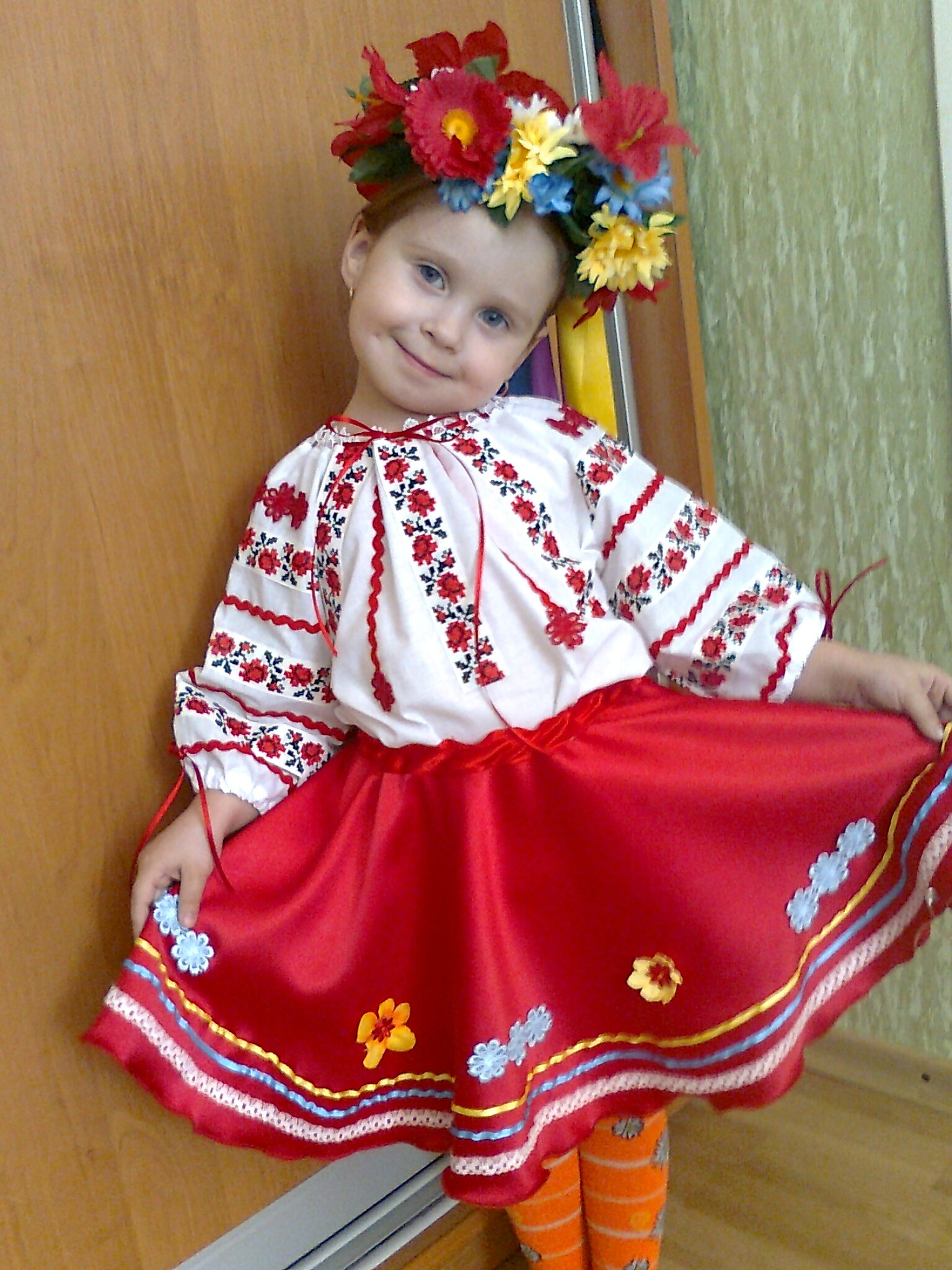 Русские народные костюмы для детей своими руками