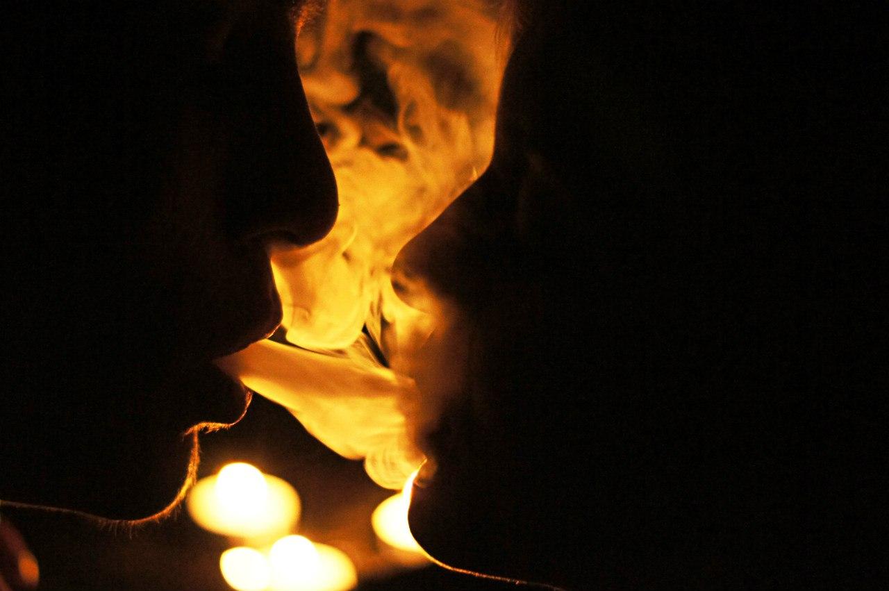 Как сделать дым из зо рта