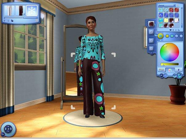 ЕА объявляет о выходе «The Sims 3 Редактор создания стиля»! X_53d68e41
