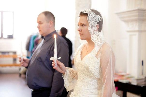 Платье для венчания обычное