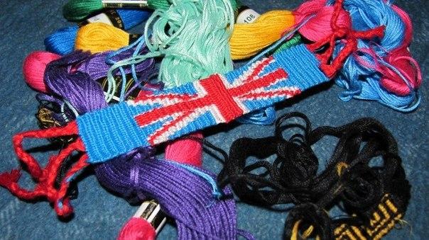 британский флаг выбрала