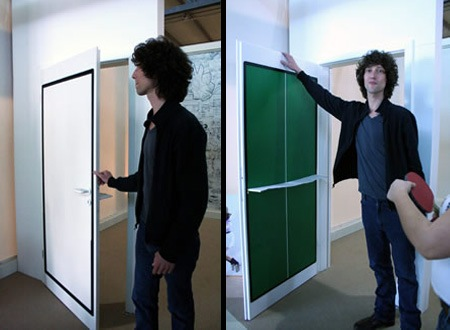 Дверь - тенисный стол