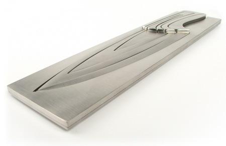 Ножи Фибоначчи - Комплект ножей, вложенных друг в друга.