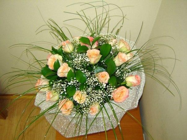 Оформление цветов букеты