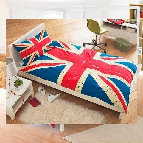 постельное белье с флагом