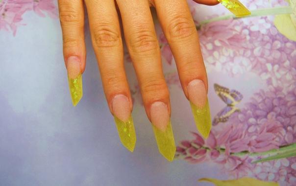 Акриловые ногти мастер класс