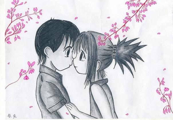 Раскраска о любви