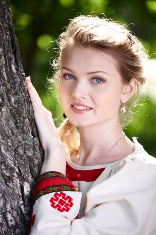 русский девушка фото