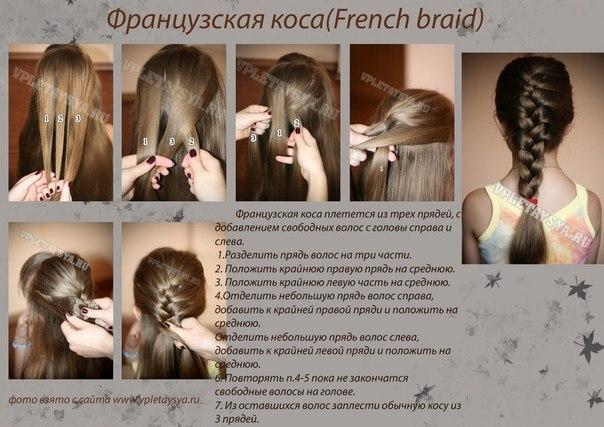 Французская коса/ «Дракончик»