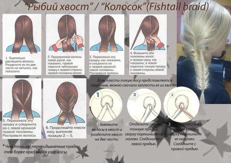 Колосок Инструкция Плетения Рисунки