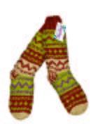 Креативные вязаные куртки на флисовой подкладке не дадут холодному ветру...