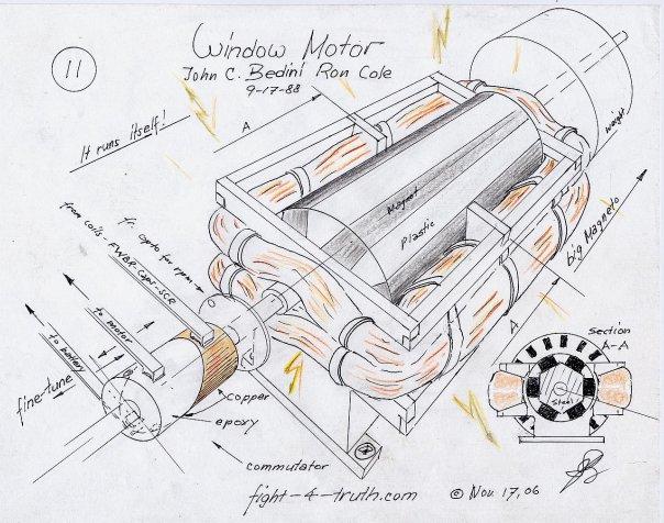 Джон Бедини ₰ Window Motor
