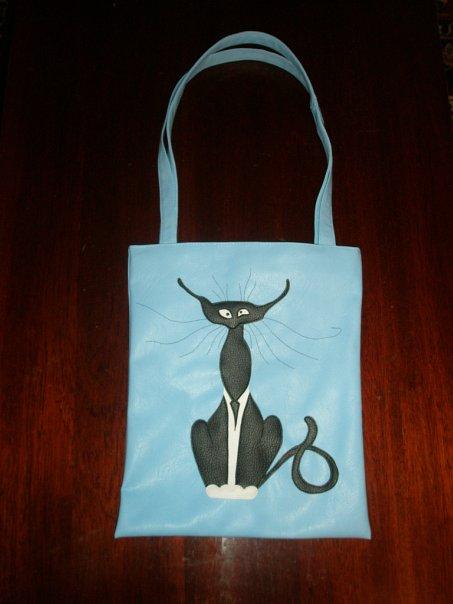 Стильная летняя сумка-торба с аппликацией.  Внутри на подкладке, 1...
