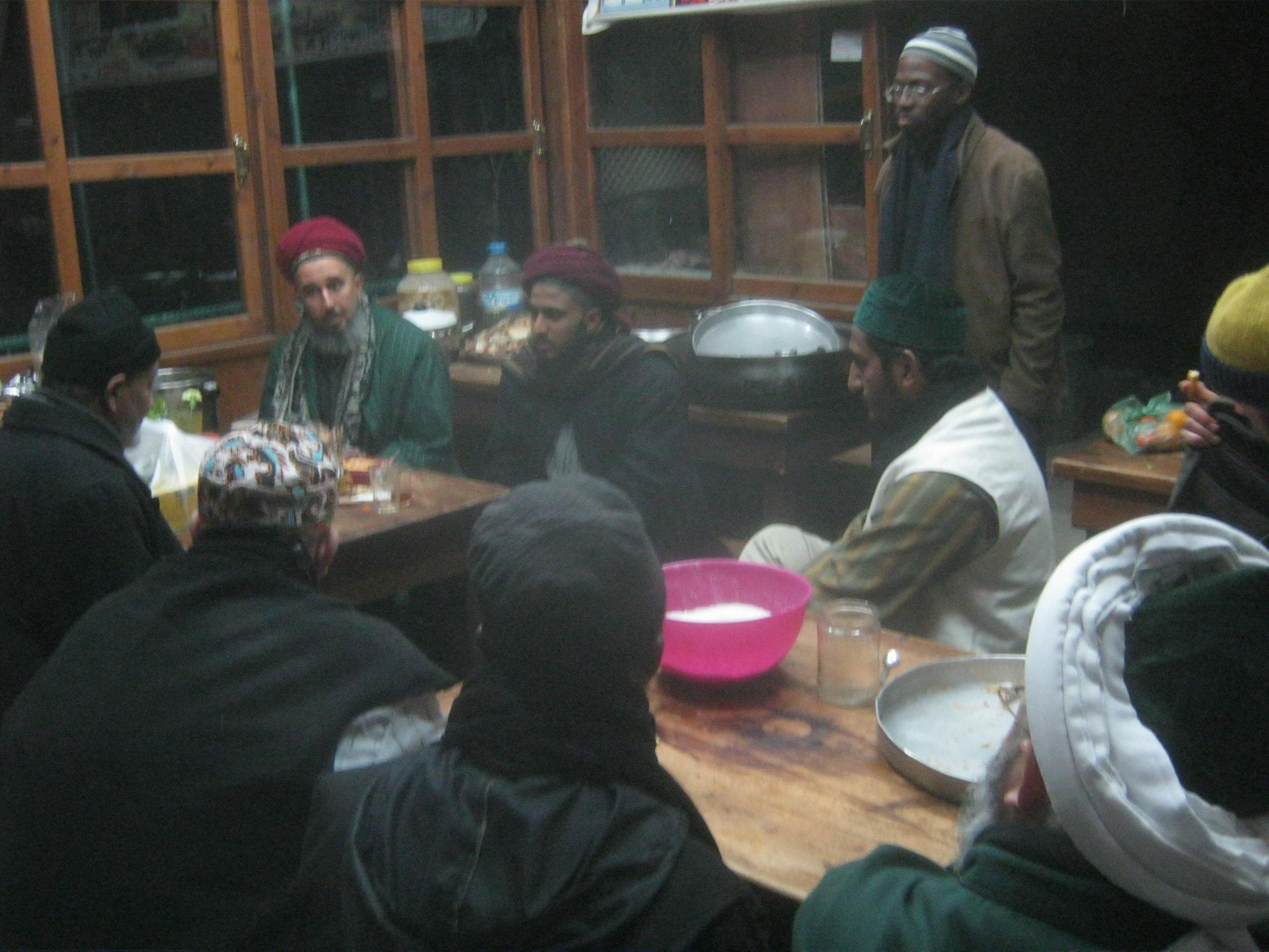 В резиденции суфийского ордена