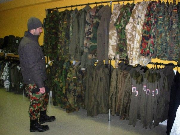 Армейская одежда — мода комфорт или