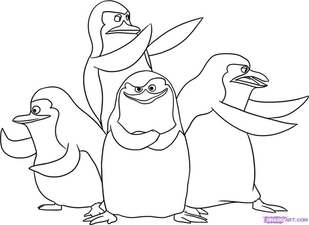 """Комментарии (стр. 1) - Схема вышивки  """"пингвины черно белая """" - Схемы автора  """"Proud """" - Вышивка крестом."""