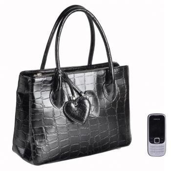 Черная женская сумка.