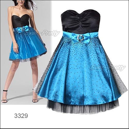 Бирюзовое коктейльное платье (3329).  Классика коктейльных платьев.
