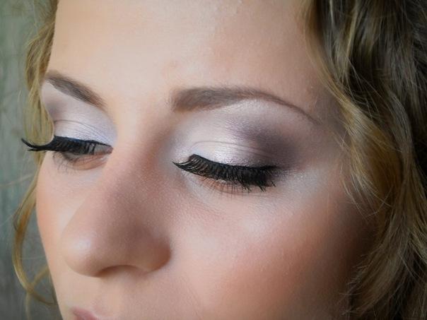 Вечерний макияж с акцентом на губы