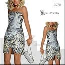 распродажа !! платье со змеинным принтом размер 44 46 S M. Фотография 1.