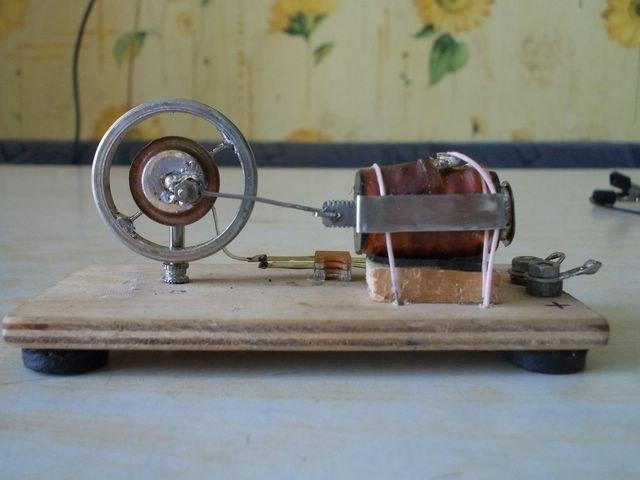 Соленоидный мотор своими руками