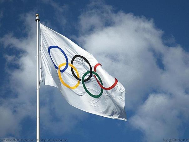 какого цвета олимпийский флаг