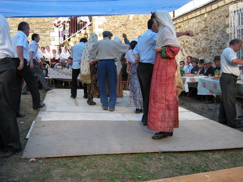 Традиционные танцы на свадьбе в Кубачи (Дагестан)