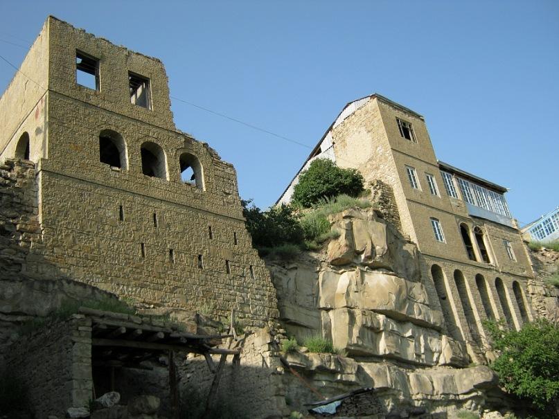 Старинный дом в селе Чох (Дагестан)