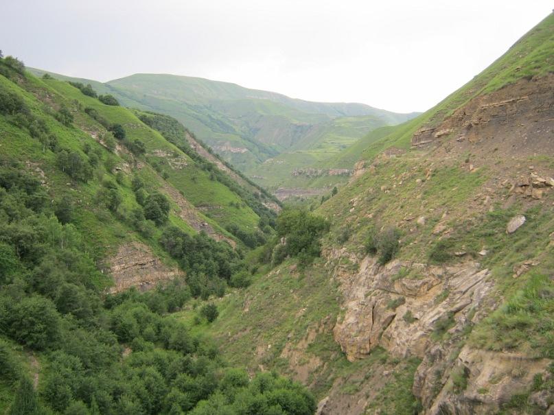 Пейзаж из Согратль в Мегеб