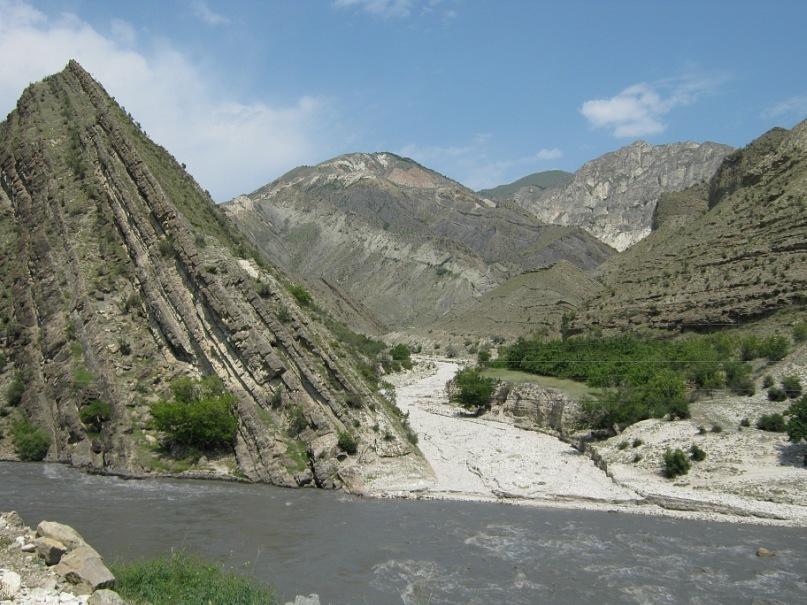 Пейзаж в горах Дагестана