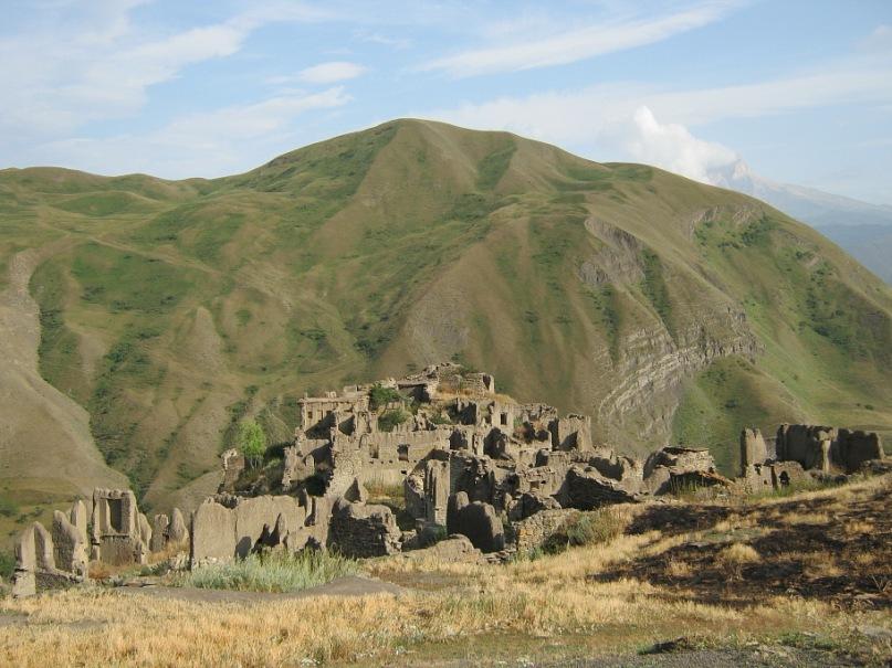 Развалины аула Гра