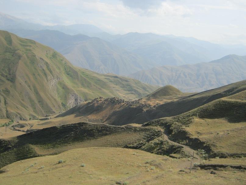 руины села ГРА (Дагестан)