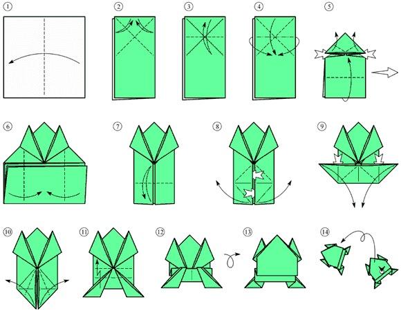 схемы по модульному оригами, 3d origami и схема голубя оригами.