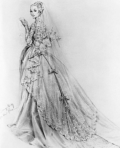 свадебное платье для барби выкройка