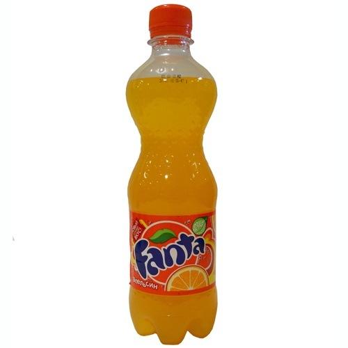 Напиток Fanta газированный 0.5 л Состав: очищенная газированная вода...