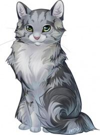 """Схема вышивки  """"Кошка 10 """": схема."""
